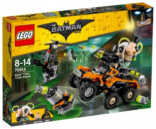 Nouveau LEGO The Batman Movie 70914 Bane Toxic Truck Attack Juin 2017