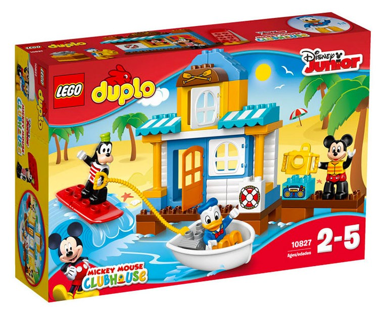 LEGO Duplo Mickey & Friends Beach House - 10827 - Photo 1