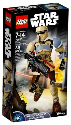 Nouveau LEGO Star Wars 75523 Scarif Stormtrooper Buildable Figures