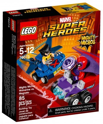 Nouveau LEGO Marvel Super Heroes 76073 Mighty Micros Wolverine contre Magneto
