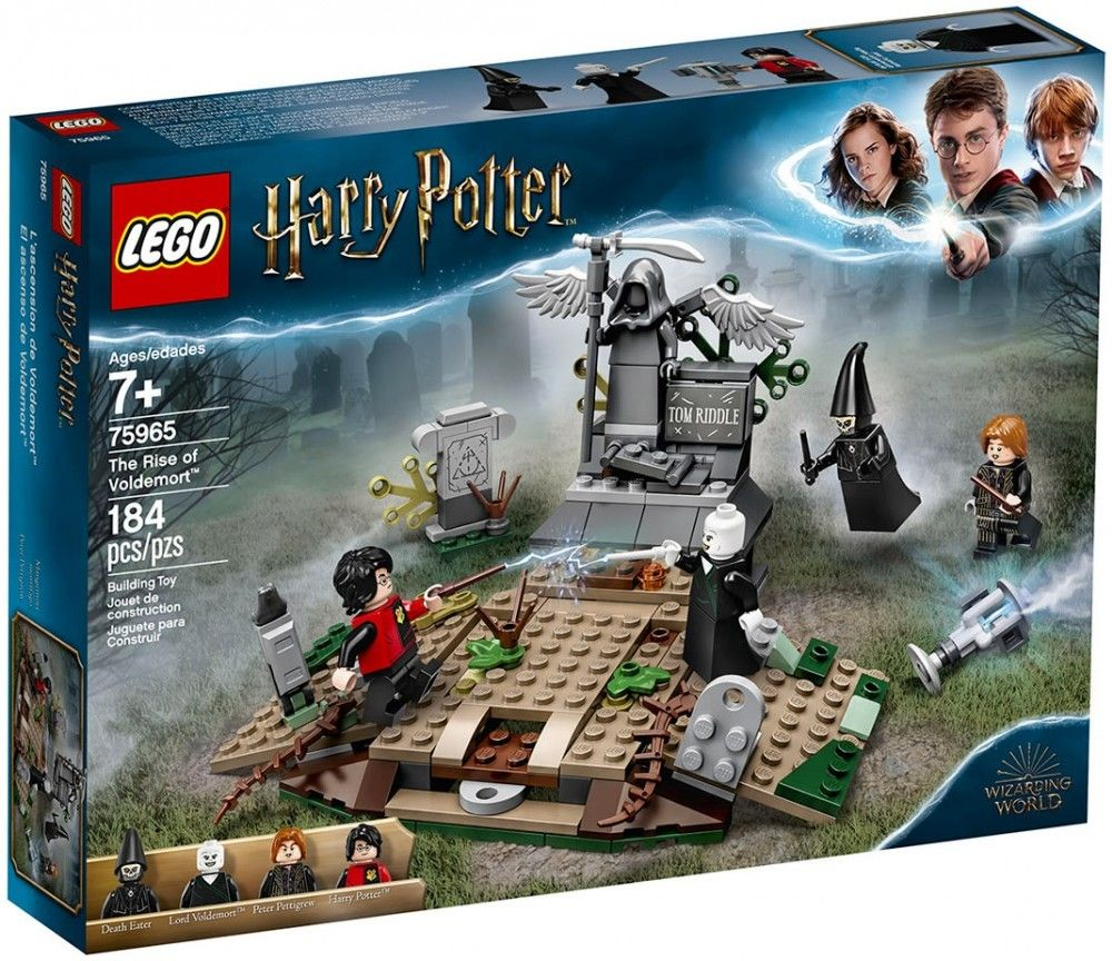 Nouveau LEGO Harry Potter 75965 The Rise of Voldemort