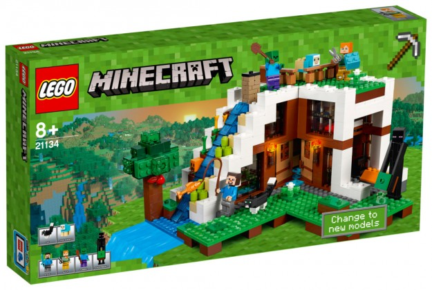 Nouveau LEGO Minecraft 21134 Secret Waterfall Escape 2017