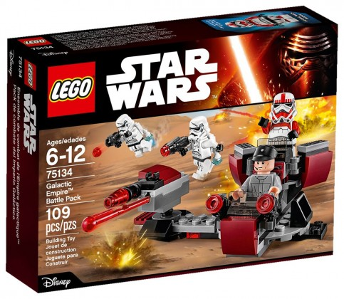 LEGO Star Wars 75134 - Pack de combat de l'Empire Galactique