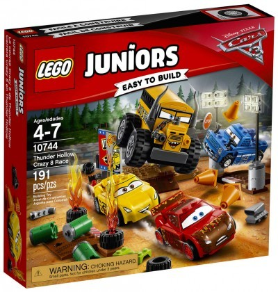 Nouveau LEGO Juniors 10744 Thunder Hollow Crazy 8 Race Juin 2017