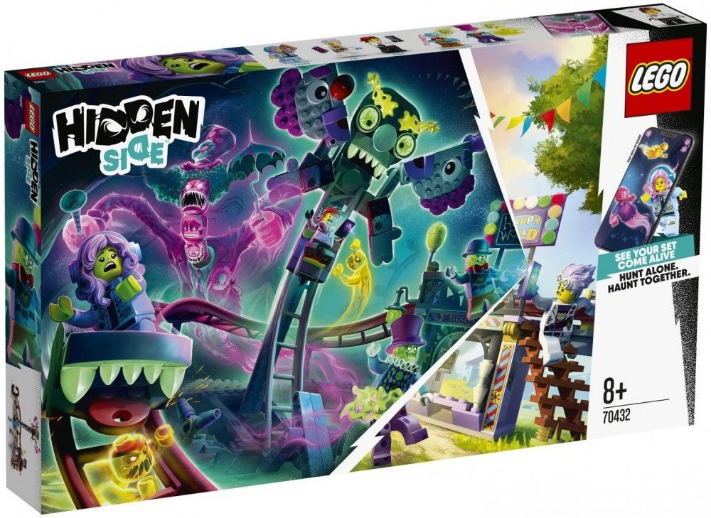 Nouveau LEGO Hidden Side 70432 Ghost Fair // Janvier 2020