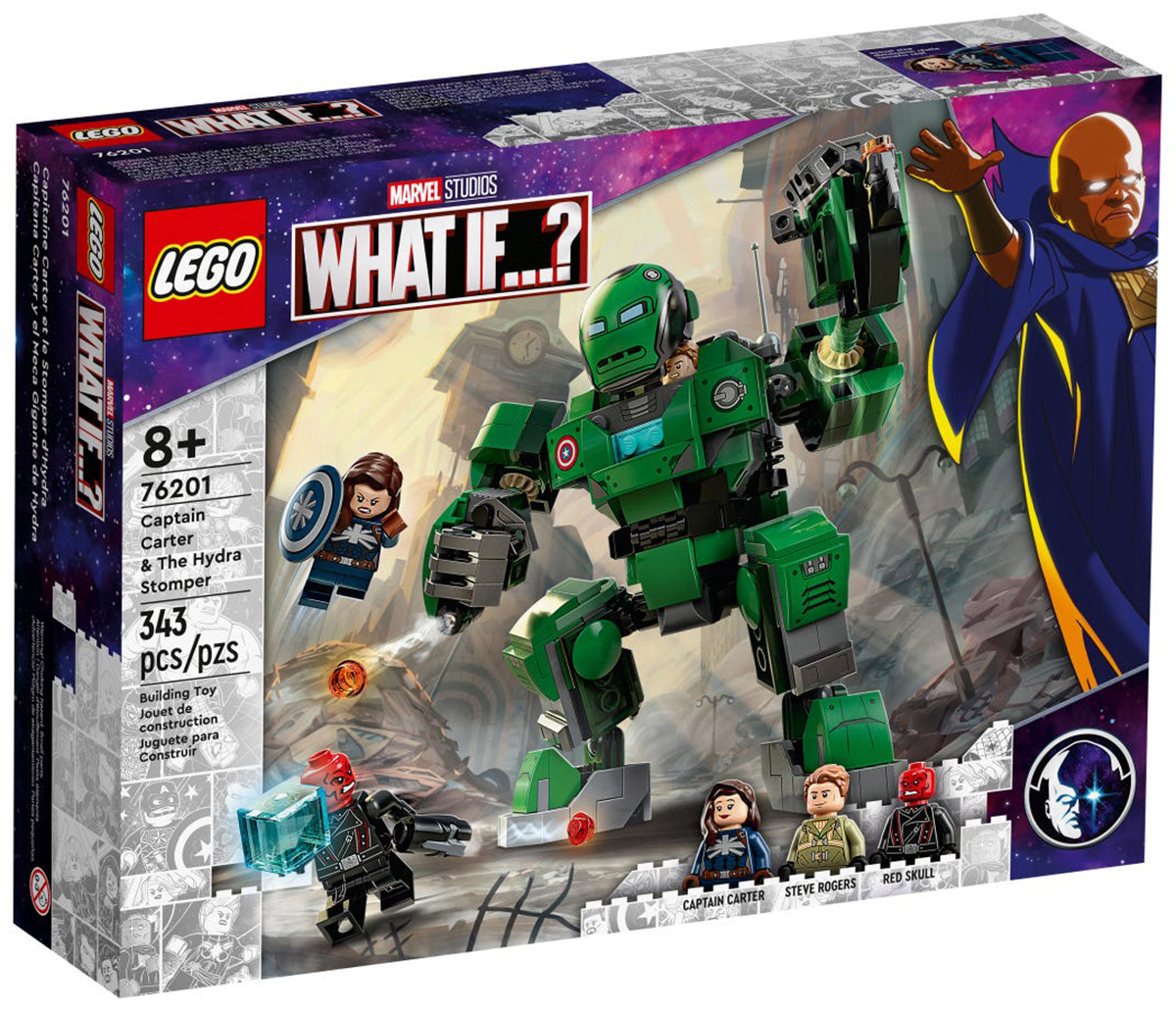 LEGO Marvel 76201 Captain Carter & The Hydra Stomper // Août 2021