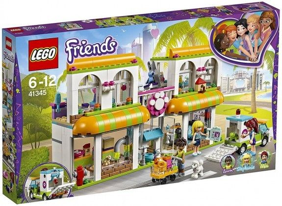 Nouveau LEGO Friends 41345 Heartlake City Pet Center 2018