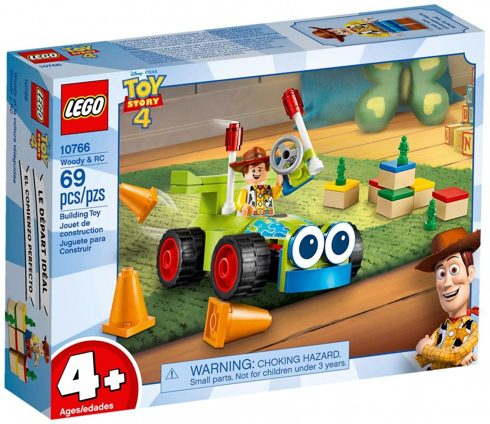 Nouveau LEGO Toy Story 10766 Woody et RC - Avril 2019
