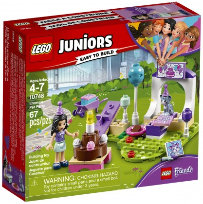 Nouveau LEGO Juniors 10748 Emma's Pet Party 2018