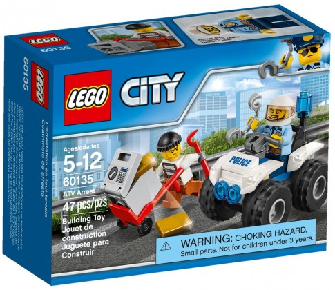 Nouveau LEGO City 60135 ATV Arrest