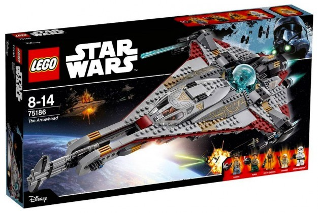 Nouveau LEGO Star Wars 75186 The Arrowhead Juin 2017