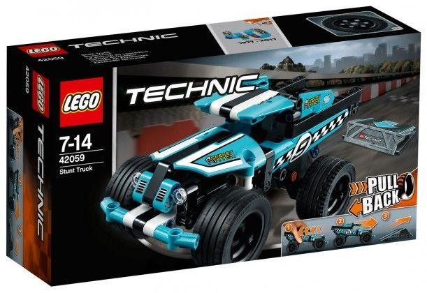 Nouveau LEGO Technic 42059 Le pick-up du cascadeur