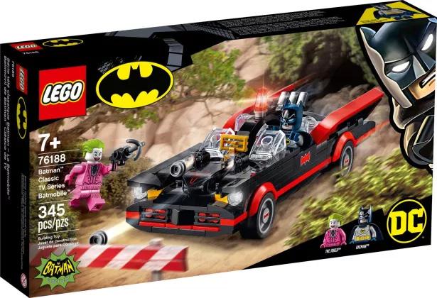 Nouveau LEGO DC Comics 76188 La Batmobile de Batman - Série TV classique // Mai 2021