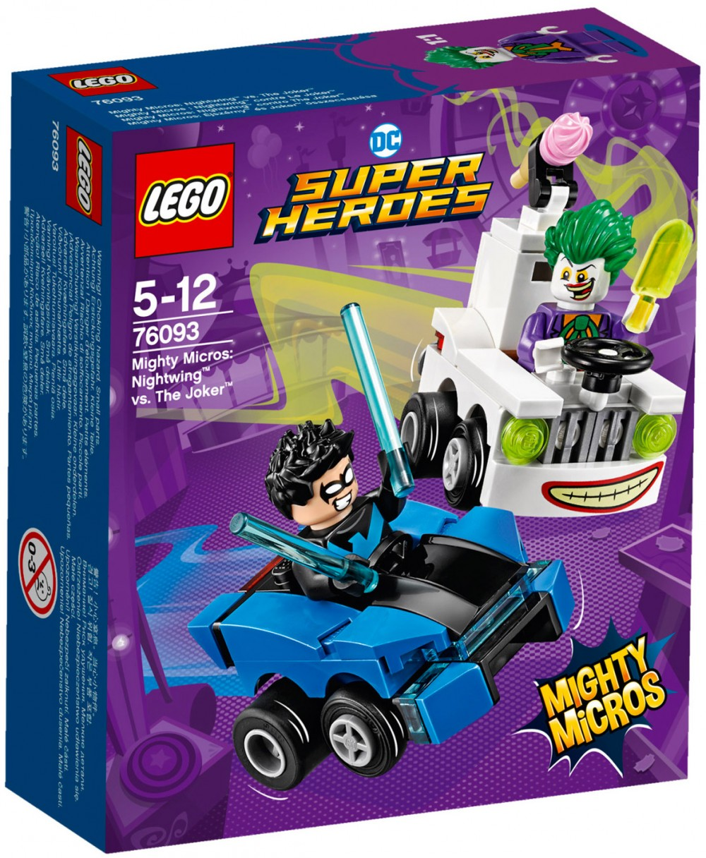 Nouveau LEGO DC Comics 76093 Nightwing vs The Joker 2018
