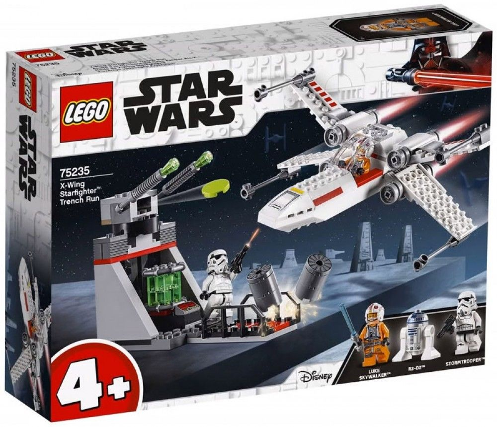 Nouveau LEGO Star Wars 75235 X-Wing Starfighter Trench Run 2019