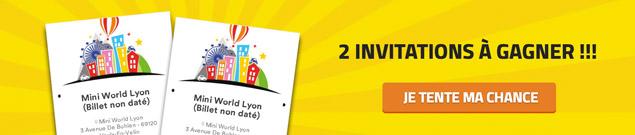2 invitations à gagner pour Ciné LEGO, l'expo à Mini World Lyon