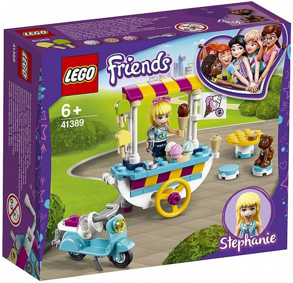 Nouveau LEGO Friends 41389 Ice Cream Cart // Janvier 2020