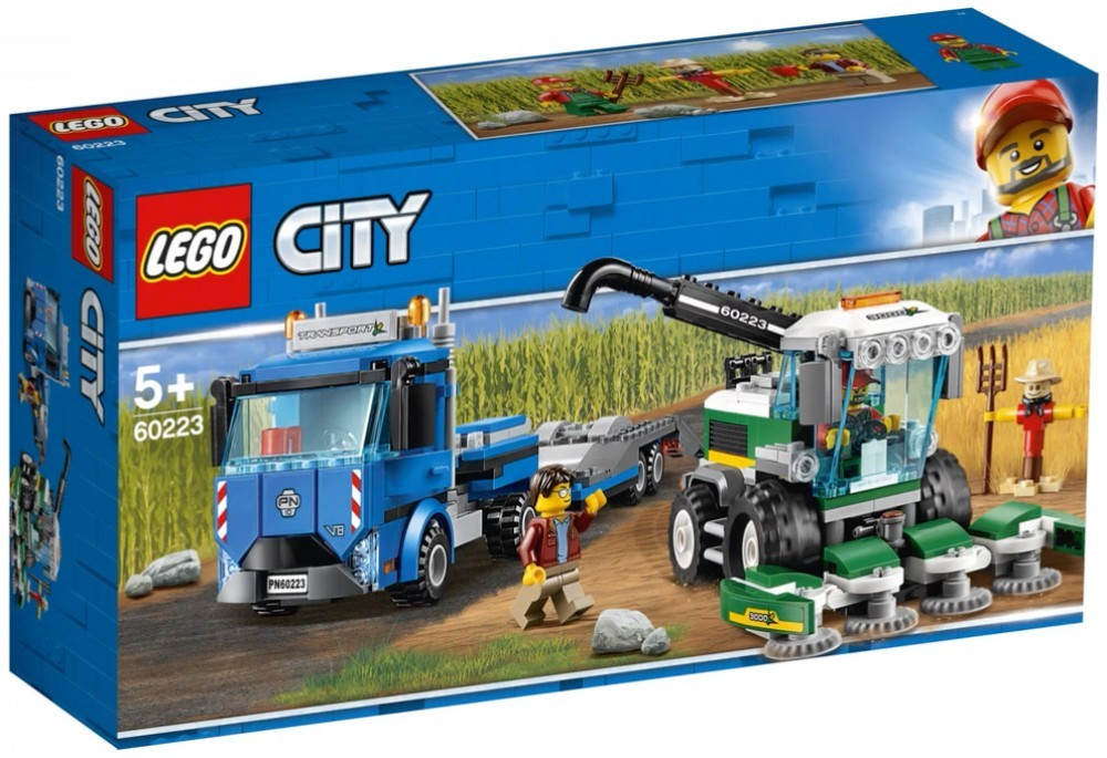 Nouveau LEGO City 60223 Harvester Transport 2019