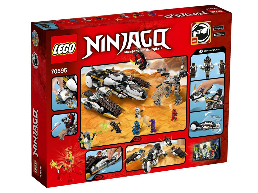 LEGO Ninjago 70595 - Ultra Stealth Raider - Photo 2