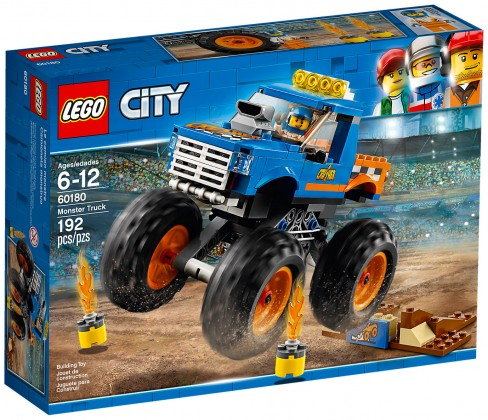Nouveau LEGO City 60180 Le monster truck 2018