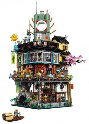Nouveau LEGO The Ninjago Movie 70620 Ninjago City