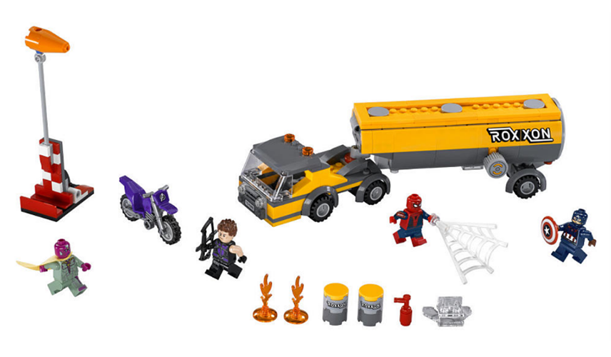 Marvel Super Heroes 76067 : Tanker Truck Takedown - Photo 2