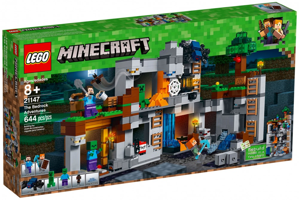 Nouveau LEGO Minecraft 21147 The Bedrock Adventures 2018