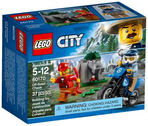 Nouveau LEGO City 60170 Off-Road Chase 2018