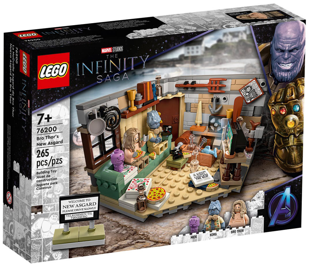 LEGO Marvel 76200 Bro Thor's New Asgard // Août 2021