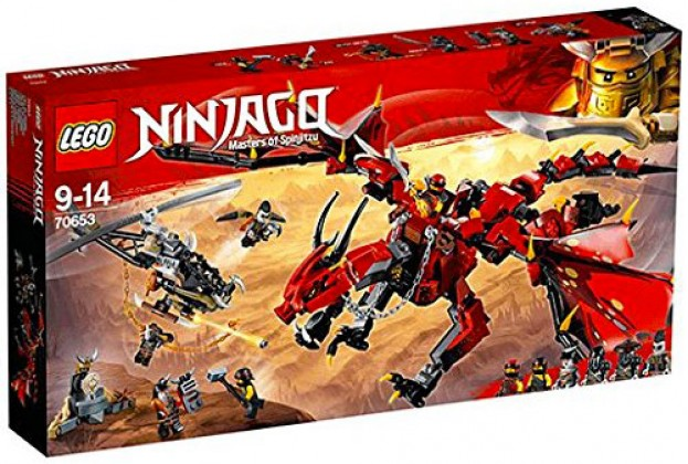 Nouveau LEGO Ninjago 70653 Firstbourne 2018