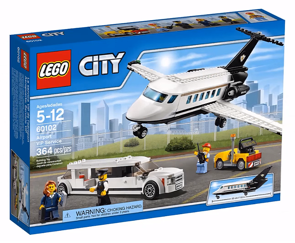 LEGO City Airport VIP Service - 60102 - Photo 1