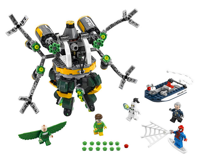LEGO Marvel Super Heroes  76059 - Spider-Man: Doc Ock's Tentacle Trap - Photo 2