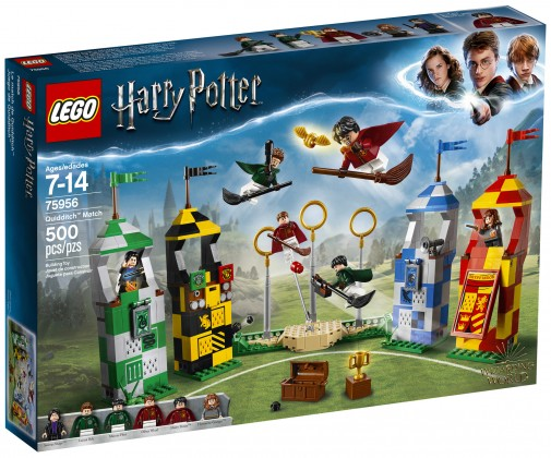 Nouveau LEGO Harry Potter 75956 Quidditch Match 2018
