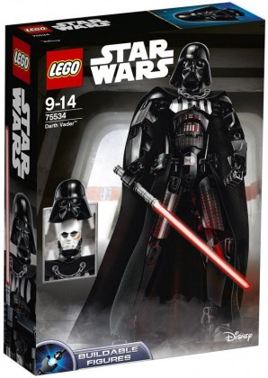 Nouveau LEGO Star Wars 75534 Darth Vader (Buildable Figures) 2018