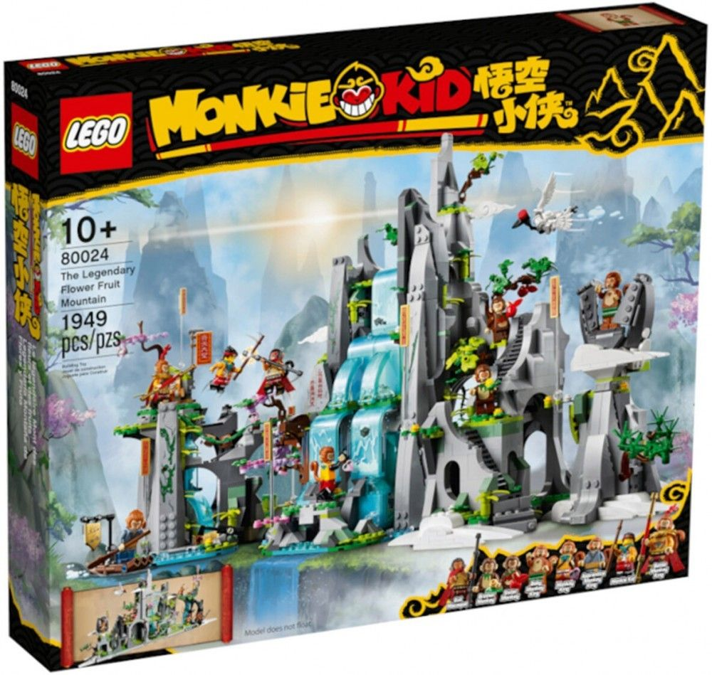 Nouveau LEGO Monkie Kid 80024 The Legendary Flower Fruit Mountain // Mars 2021