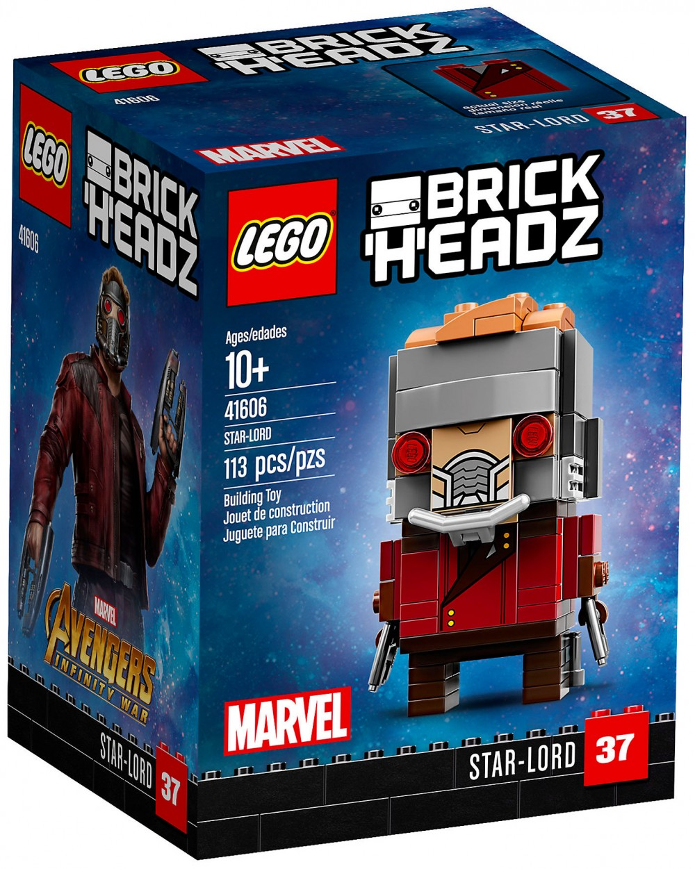 Nouveau LEGO BrickHeadz 41606 Star-Lord Avril 2018