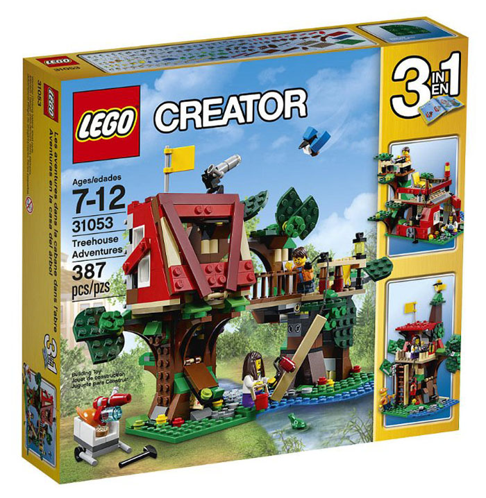 LEGO City Treehouse Adventures - 31053 - Photo 1