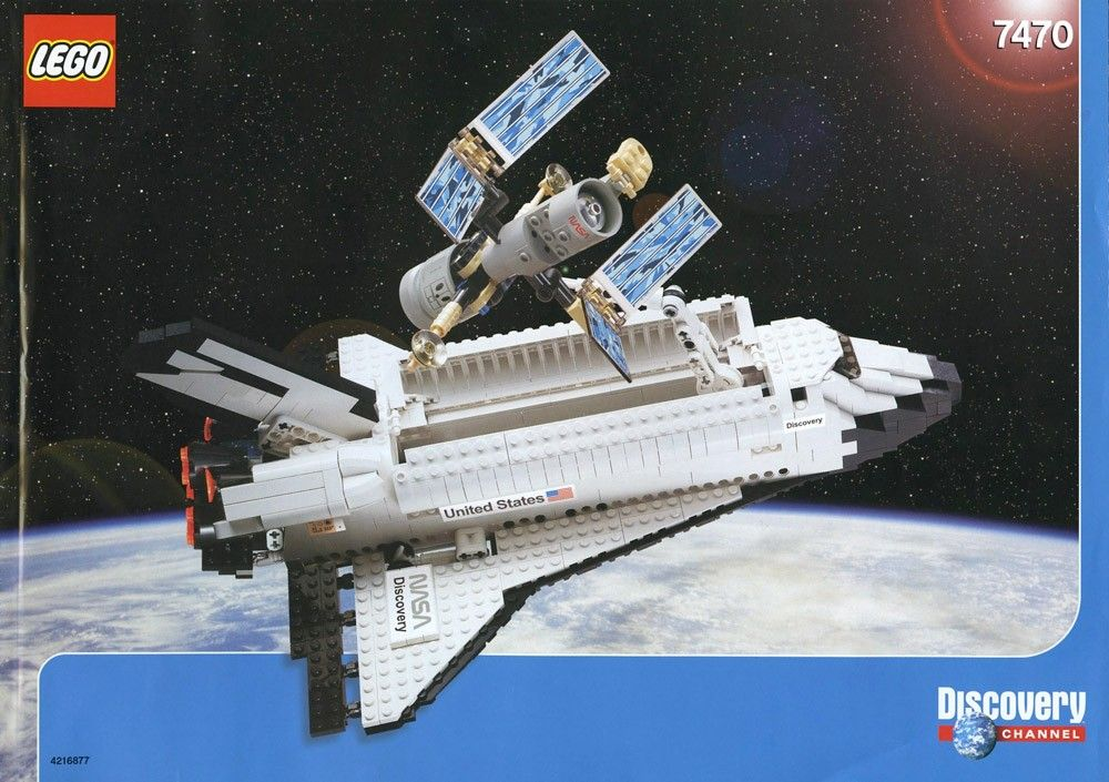 LEGO 7470 - Space Shuttle Discovery STS-31 (2003)