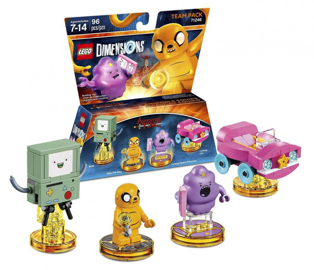LEGO Dimensions 71246 - Pack Equipe Jake the dog and Lumpy Space Princess (Adventure Time)