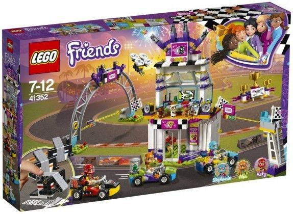 Nouveau LEGO Friends 41352 The Big Race Day 2018