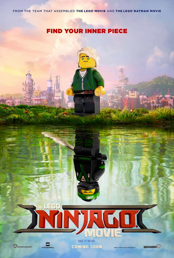 Affiche du film LEGO Ninjago Movie 2017