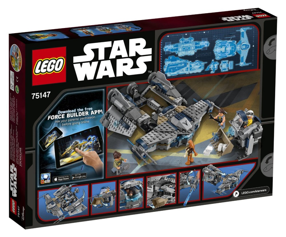 LEGO Star Wars Star Scavenger - 75147 - Photo 2