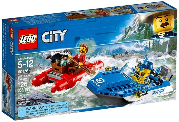 Nouveau LEGO City 60176 Wild River Escape 2018