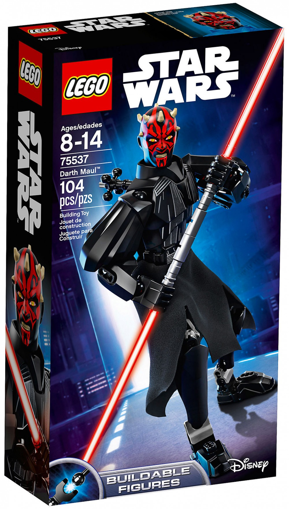 Nouveau LEGO Star Wars 75537 Dark Maul (Buildable Figures) 2018