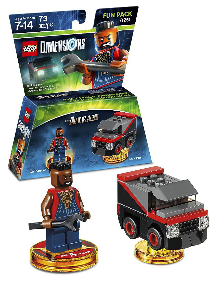 LEGO Dimensions 71251 - Pack Héros Mr T (Agence tous risques)