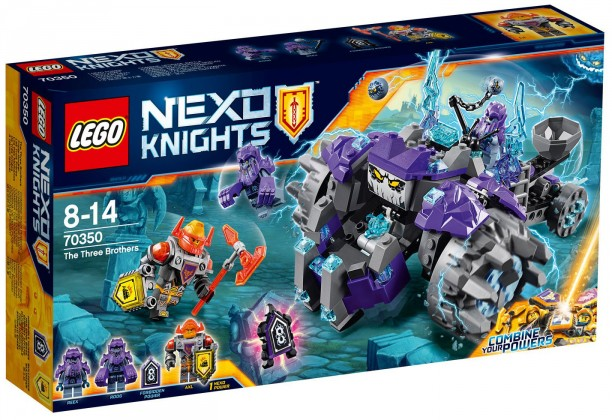 Nouveau LEGO Nexo Knights 70350 The three brothers