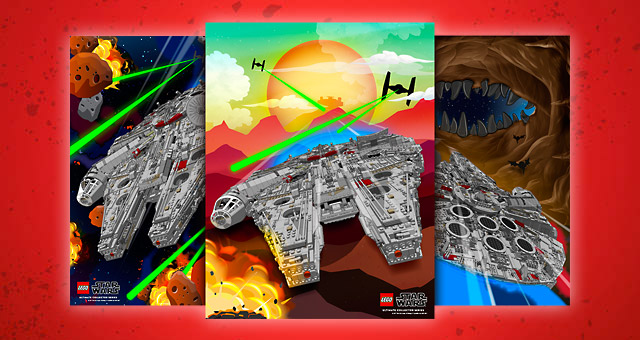 Posters LEGO Star Wars Exclusifs