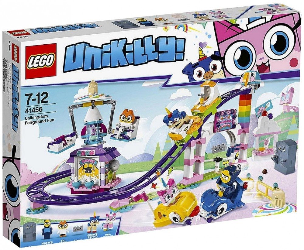 Nouveau LEGO Unikitty 41456 Unikingdom Fairground Fun