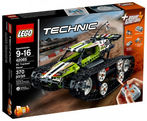 Nouveau LEGO Technic 42065 RC Tracked Racer
