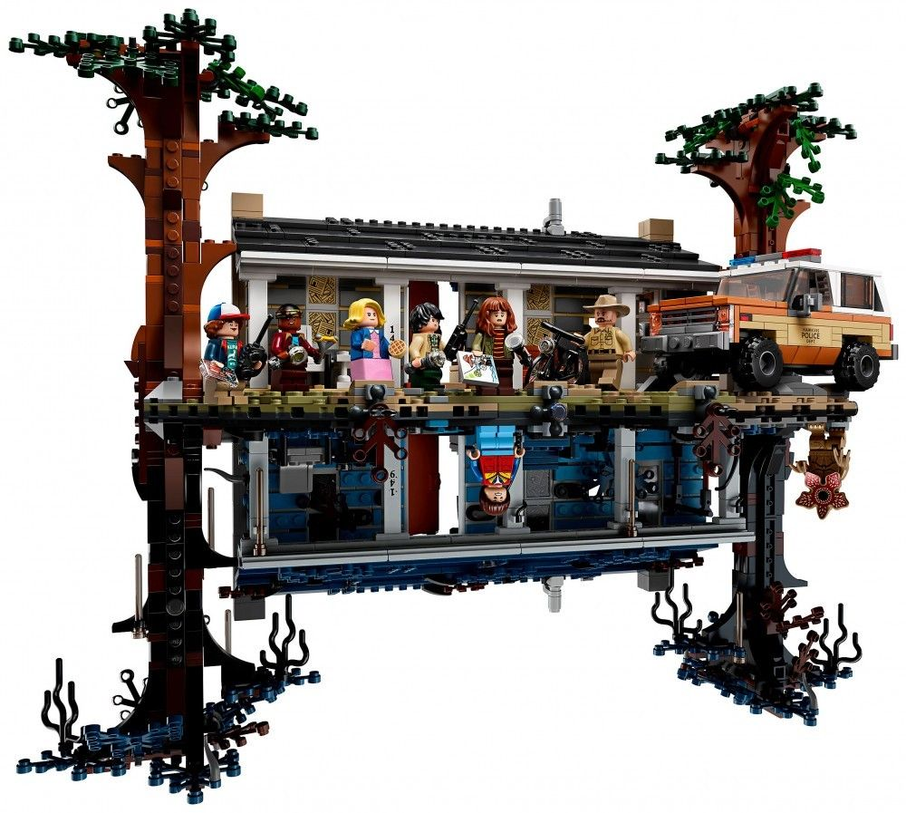 Nouveau LEGO Stranger Things 75810 The Upside Down